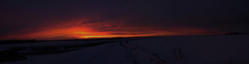 kurz vor Sonnenaufgang (Panorama 10211x2628)