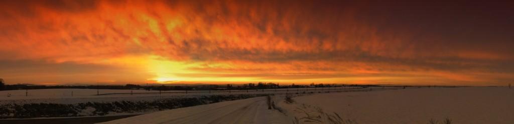 Sonnenaufgang (Panorama 17280x4179)