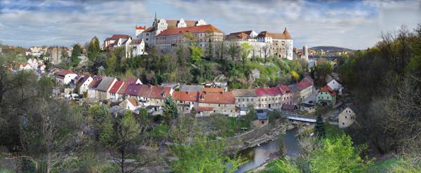 Blick auf die Burg Bautzen